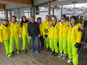 Ski-Test am Golm am Sonntag, 18. Dezember 2016