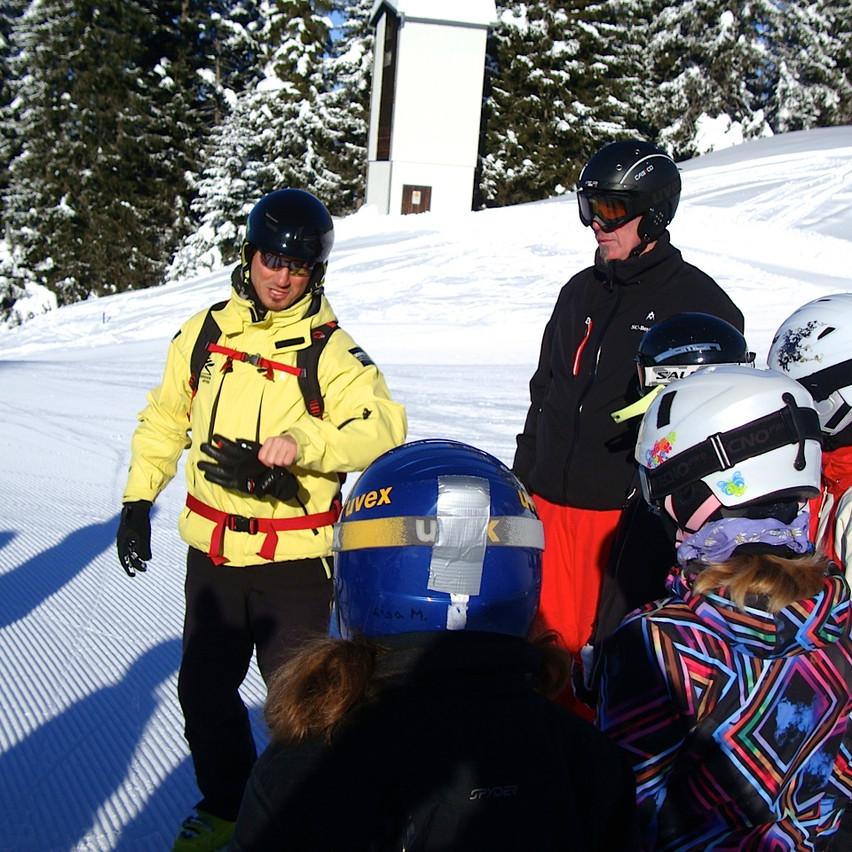 Schifahren mit Flocke 14.02.2013  (2)