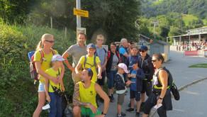Wanderwochenende durchs Rellstal via Kreuzjoch zum Golmer Joch vom 21.- 22.08.2021