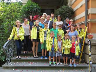 Schispalier für Günther & Edith am 24. Juli 2015