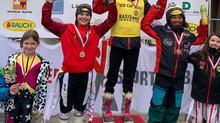 Chanel Krimmer gewinnt SCO-Cup Rennen am 16.02.2020 in Laterns/Gapfohl