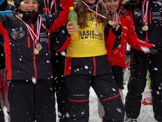 Erfolgreicher Start in die Rennsaison für SV Götzis Nachwuchsschirennläuferin