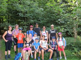 Familienwanderwochenende 26.- 27.08.2017 Brüggelekopf