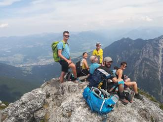 """Klettertour """"Drei Schwestern"""" am Samstag, 20.07.2019"""