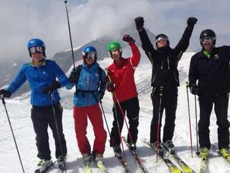 Ski-Instruktor Ausbildung vom 11.- 24.07.2015 am Hintertuxer Gletscher