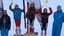 Premierensieg für SV Götzis Rennläuferin Chanel Krimmer