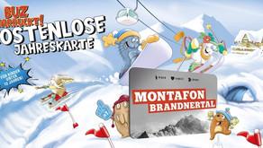 Saisonkarte Montafon - Brandnertal Card Winter 2021/2022