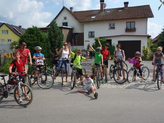 Familienradtour zum Bruggerloch am 6. Juli 2013