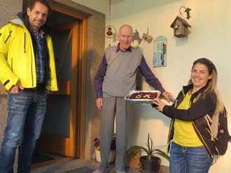 SV Götzis gratuliert Emil Marte