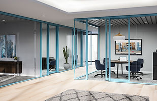 Enclose Frameless Glass Haworth Moveable