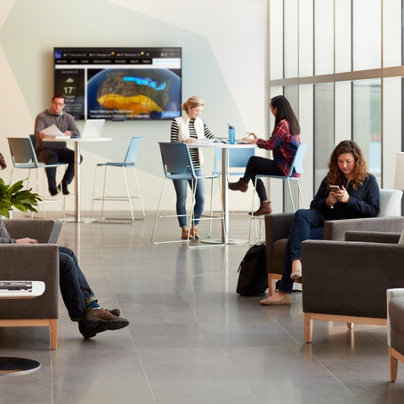 Social Spaces Transforming Offices