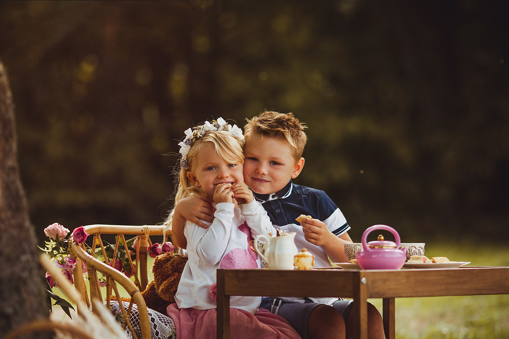children and family photography photographer .  magical whimsical dreamy images . cute  mini session tea party afteroon tea teddy bears picnic . Nottinghamshire Derbyshire Yorkshire based family photographer.  Brother and sister photography