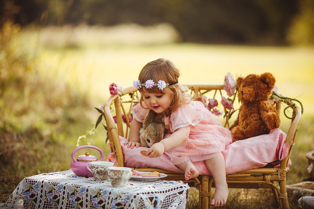 children and family photography photographer .  magical whimsical dreamy images . cute  mini session tea party afteroon tea teddy bears picnic . Nottinghamshire Derbyshire Yorkshire based family photographer.