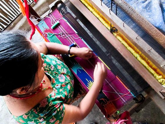 Dhaka Weaving by Durga Basnet