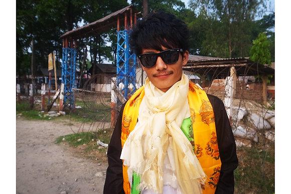 Khada Farewell Scarves - by Mani Kumar