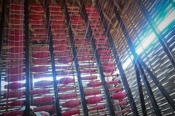 Dhaka Weaving Studio by Keshabi Neupane