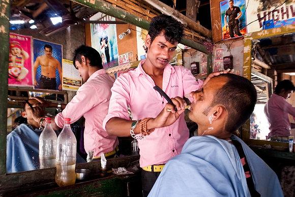 Beldangi Barbershop by Keshabi Neupane