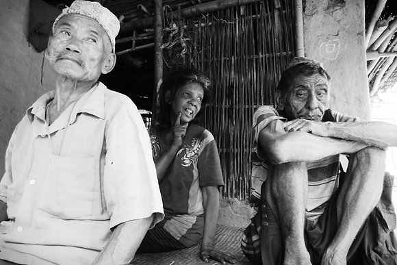 Village Elders by Durga Basnet