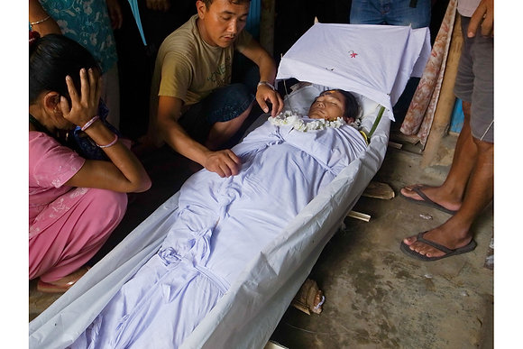 Kirat Funeral by Mohan Rai