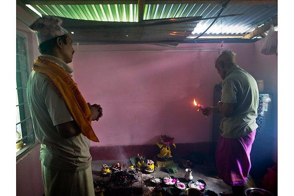 Puja Ceremony by Keshabi Neupane