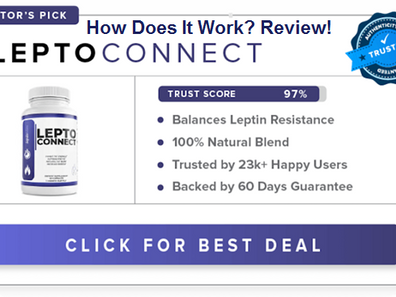 Lepto Connect Quality Tabs For Fat Burning Heart Rate