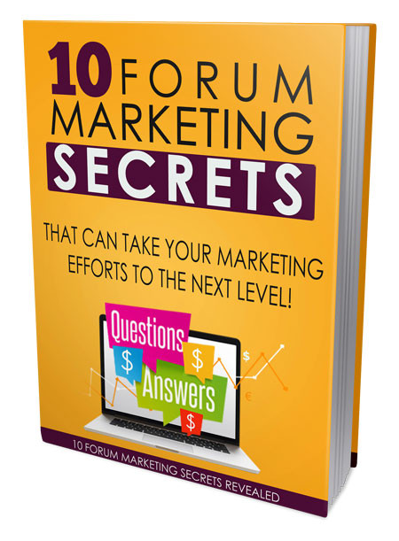 Internet Marketing Solution and Forum Marketing Secrets