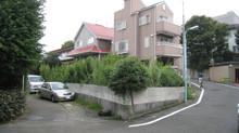 都内一等地に地下1階地上3階建の住宅設計が始まりました。