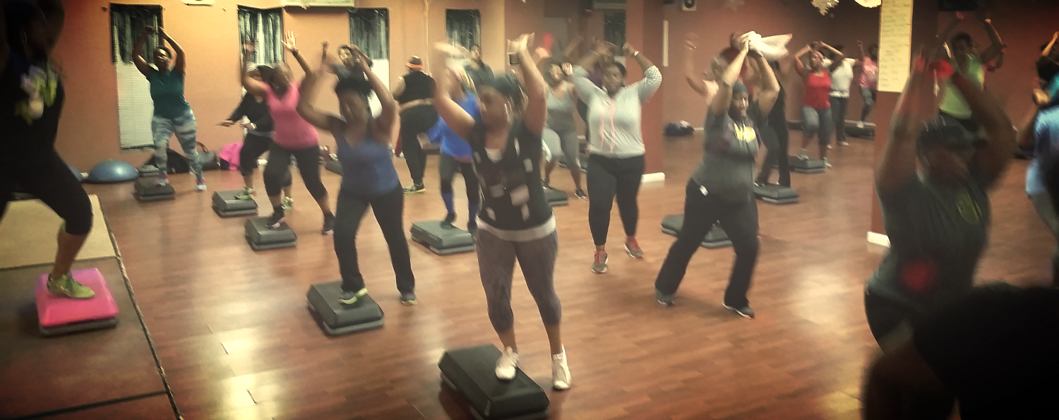 HIP HOP STEP AEROBICS