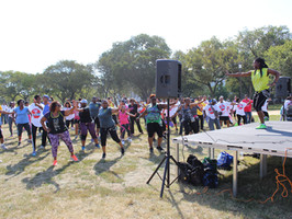 """""""Stomp Out Sickle Cell"""" Walk Performance"""