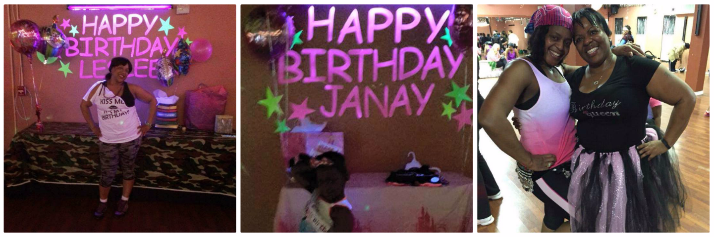 DANCE FITNESS BIRTHDAY PACKAGES
