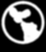 owl and bear studio logo white on black.