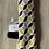 Thumbnail: Attache tétine cercles noir et moutarde