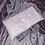 Thumbnail: Petite bouillotte sèche graine de lin bio fleurs roses sur fond blanc
