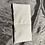 Thumbnail: Petite bouillotte sèche graine de lin bio fleurs blanches sur fond rose