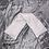 Thumbnail: Bouillotte sèche tour de cou en graine de lin bio fleurs blanches sur fond rise