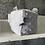 Thumbnail: Cube d'Activité Gris pois et étoiles