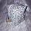 Thumbnail: Trousse et 8 cotons démaquillant lavables Fleurs bleu et marron