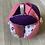 Thumbnail: Balle de préhension Montessori Liberty Violet