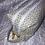 Thumbnail: Trousse double zip Vert céleste