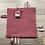 Thumbnail: Doudou étiquette attache sucette Étoile Vieux Rose