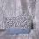 Thumbnail: Petit Pochette Fleurs bleu et marron