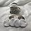 Thumbnail: Trousse et 8 cotons démaquillant lavables petites feuilles