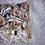 Thumbnail: Petit Pochette Fleurs mauve et rose