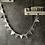Thumbnail: Guirlande de Fanions Gris étoiles argentées