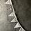 Thumbnail: Guirlande de Fanions Gris pois et étoiles