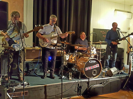 PAWS Band Night - Sneeky - Raising Over £500