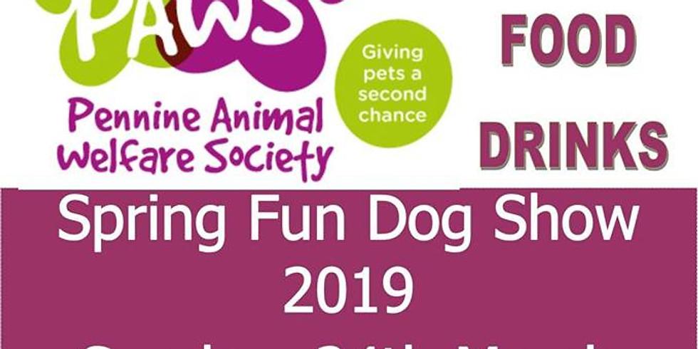 PAWS Spring Fun Dog Show