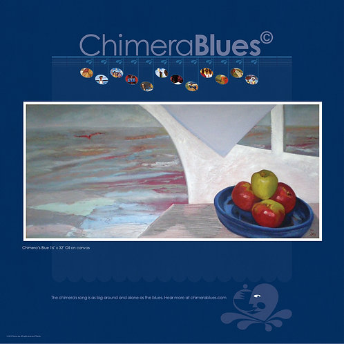 Chimera's Blue Poster