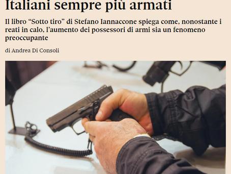 Cittadini in possesso di armi: nessuna preoccupazione