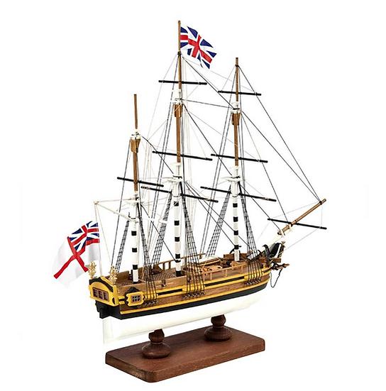 Maquette de bateau en bois à construire Bateau Bounty - First Step de AMATI A600,04